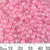 6/0 Peachy Pink Lustre Seed Beads
