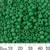6/0 Opaque Medium Green Seed Beads