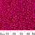 11/0 Opaque Hot Pink Seed Beads