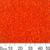 11/0 Opaque Orange Delica Seed Beads