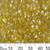 Gold AB Long Magatama Beads
