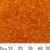 11/0 Orange Glass Seed Beads