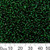 11/0 Dark Green S/L Seed Beads