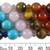 Chakra & Crystal Healing 10mm Round Gemstone Bead Set