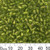 Grass Green 4mm Round Glass Beads