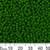 8/0 Opaque Jade Green Japanese Seed Beads
