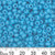 6/0 Opaque Light Blue Japanese Seed Beads