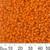 11/0 Opaque Orange Seed Beads