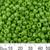 6/0 Opaque Grass Green Glass Seed Beads