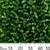 6/0 Medium Green S/L Glass Seed Beads