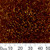 11/0 S/L Amber Delica Seed Beads