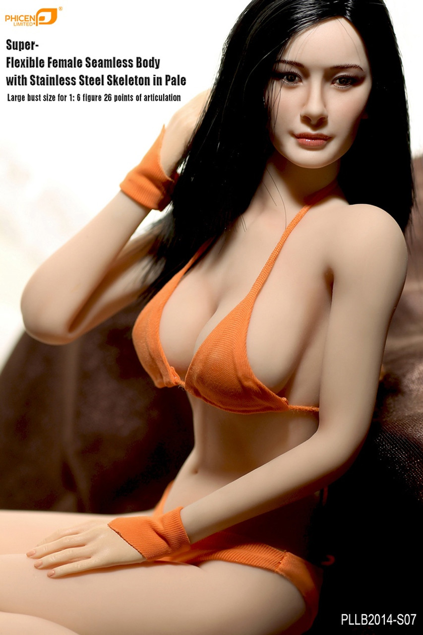 TBLeague 1//6 Flexible Seamless Female figure w// Head PHICEN S01 S02 S06 S07 S09