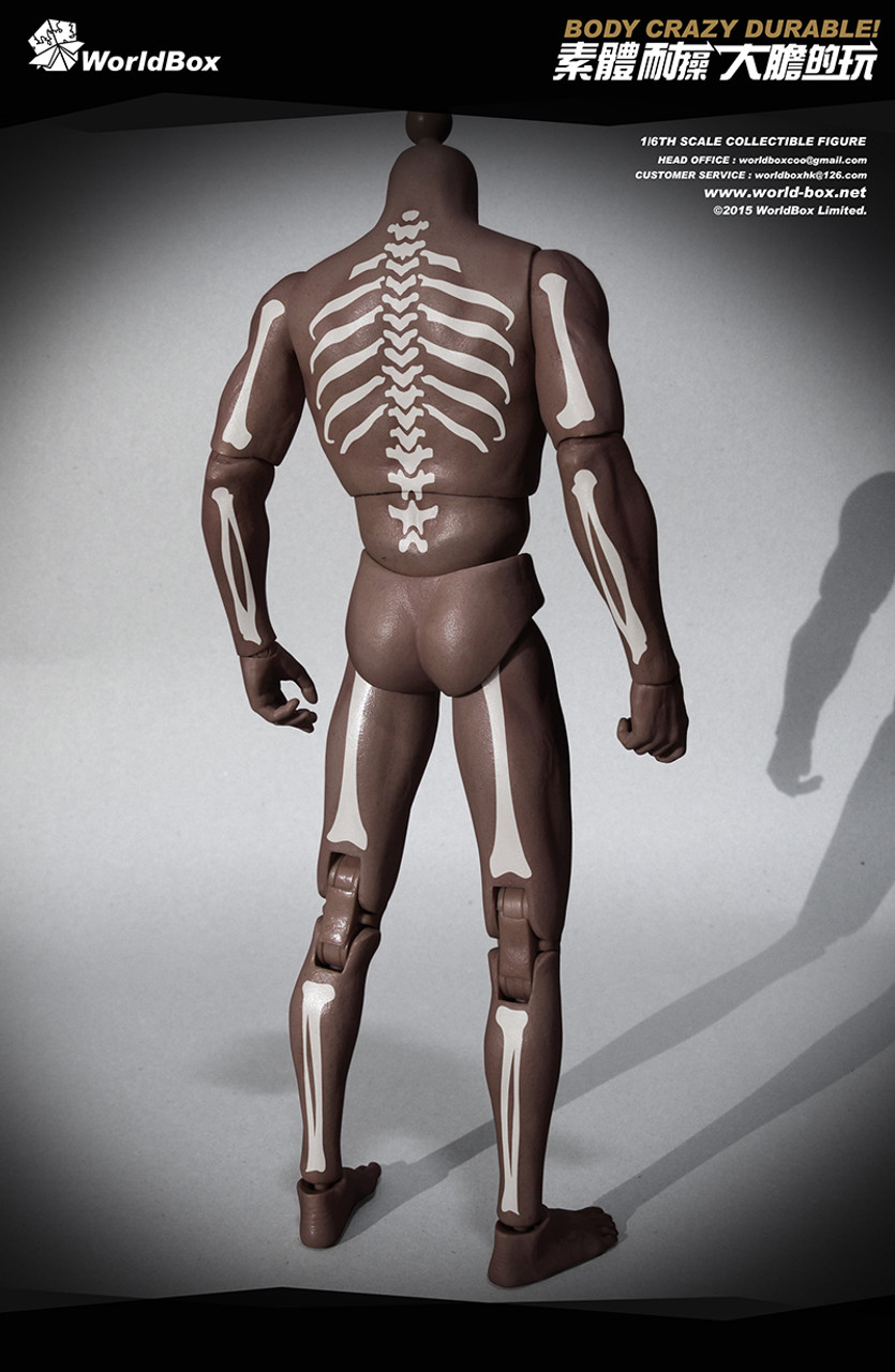 World Box Articulated Totem 1:6 Action Figure Body AT007