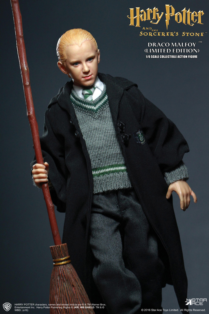 1:6 Star ACE Harry Potter Draco Malfoy in School Uniform Collector Figure 0028