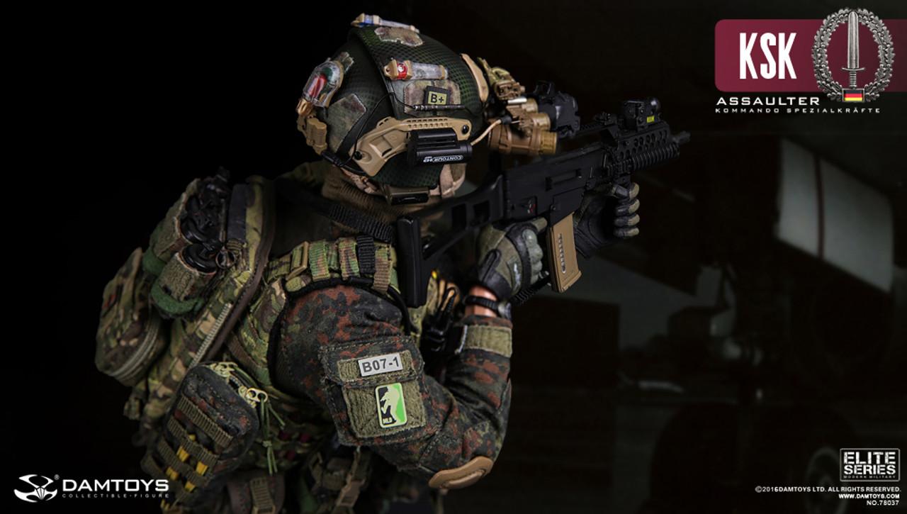 1//6 DamToys Action Figure Germany KSK Kommando Spezialkrafte Assaulter 78037 DAM