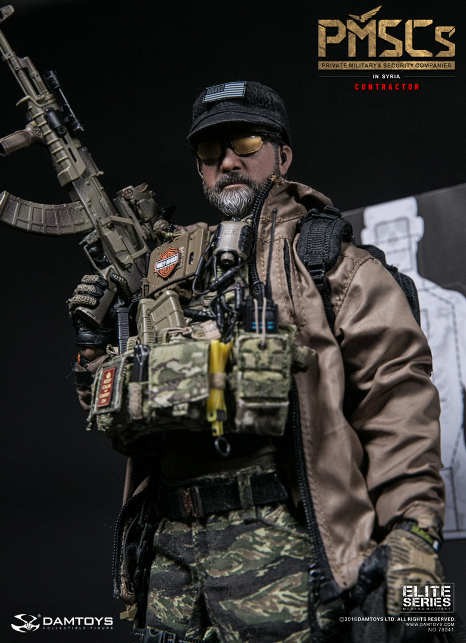 1//6 Scale DAMTOYS PMSCs Contractor In Syria 78041 Movable Figure Doll