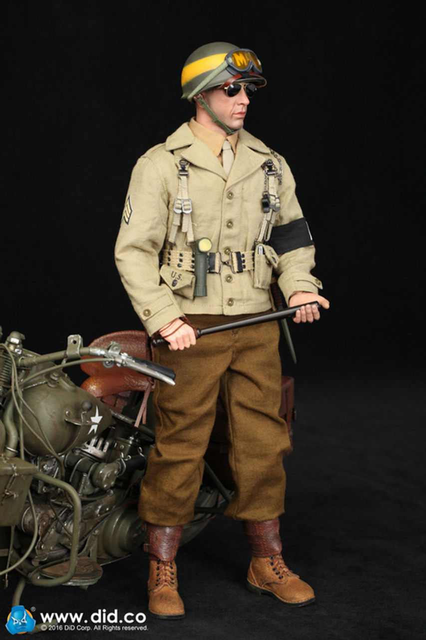 1//6 DID WWII US 2nd Armored Division Military Police Bryan loose Hands