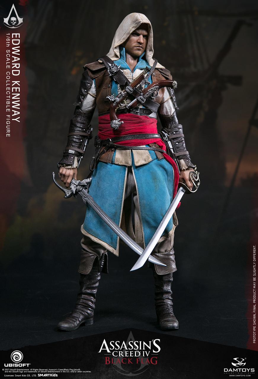 DAMTOYS DMS003 1//6 Scale Assassin/'s Creed IV Black Flag Edward Kenway Sword