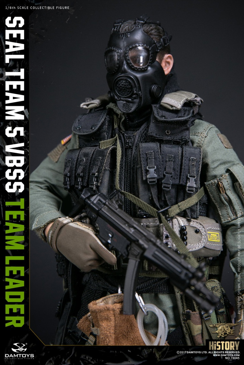 DAM TOYS 78045 HISTORY SERIES US SEAL TEAM 5 VBSS TEAM LEADER 1//6 Figure