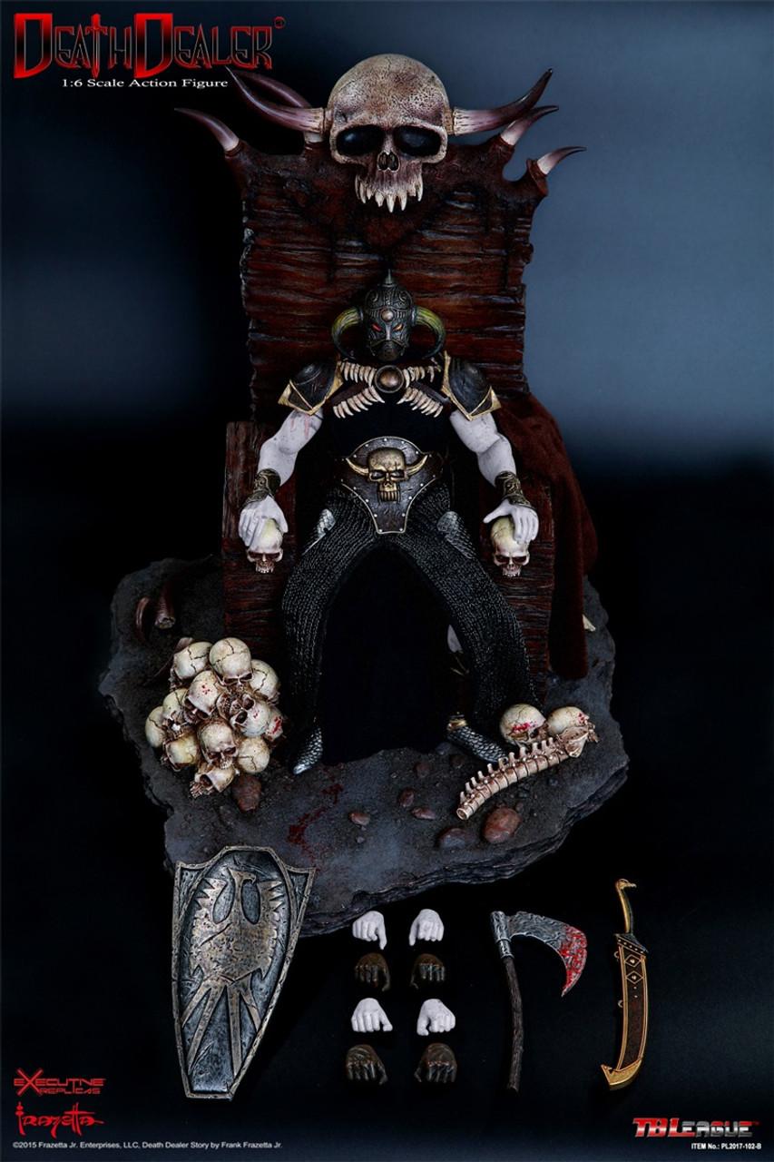 1//6 Scale Hell on Earth Frazetta Death Dealer Version 2 Battle Shield