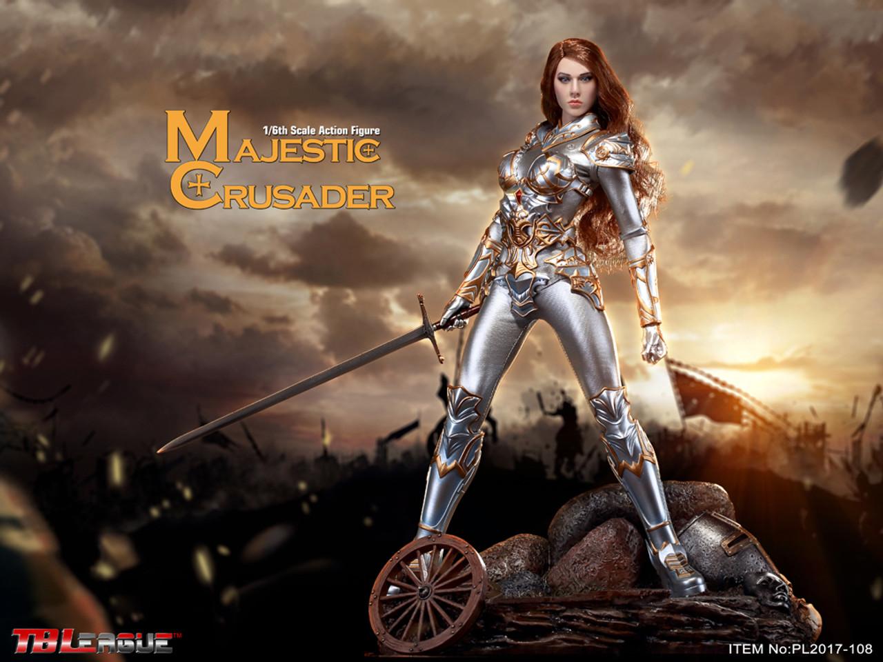 TBLeague Phicen Majestic Crusader 1//6 Figurine avec Seamless Body PL-2018-108