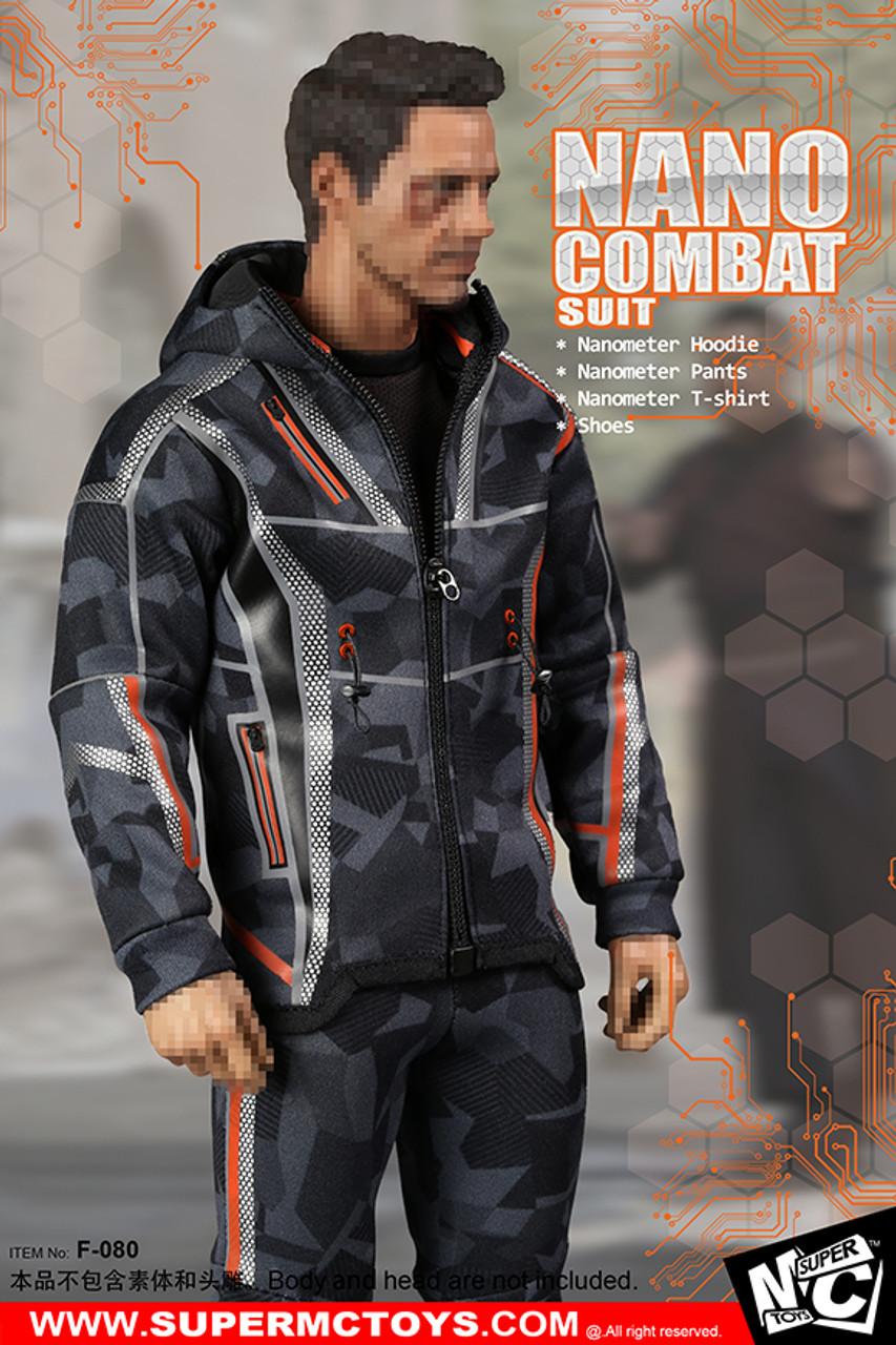 Nano Combat Suit F-080 For Hot Toys 1//6 SuperMCTOYS Action Figure Accessory