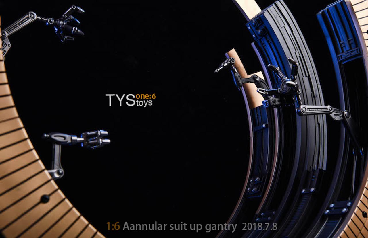 ZYTOYS 1//6 Scale Ironman MK VI Aannular Suit Up Gantry Resin Model 5.8kg Figure