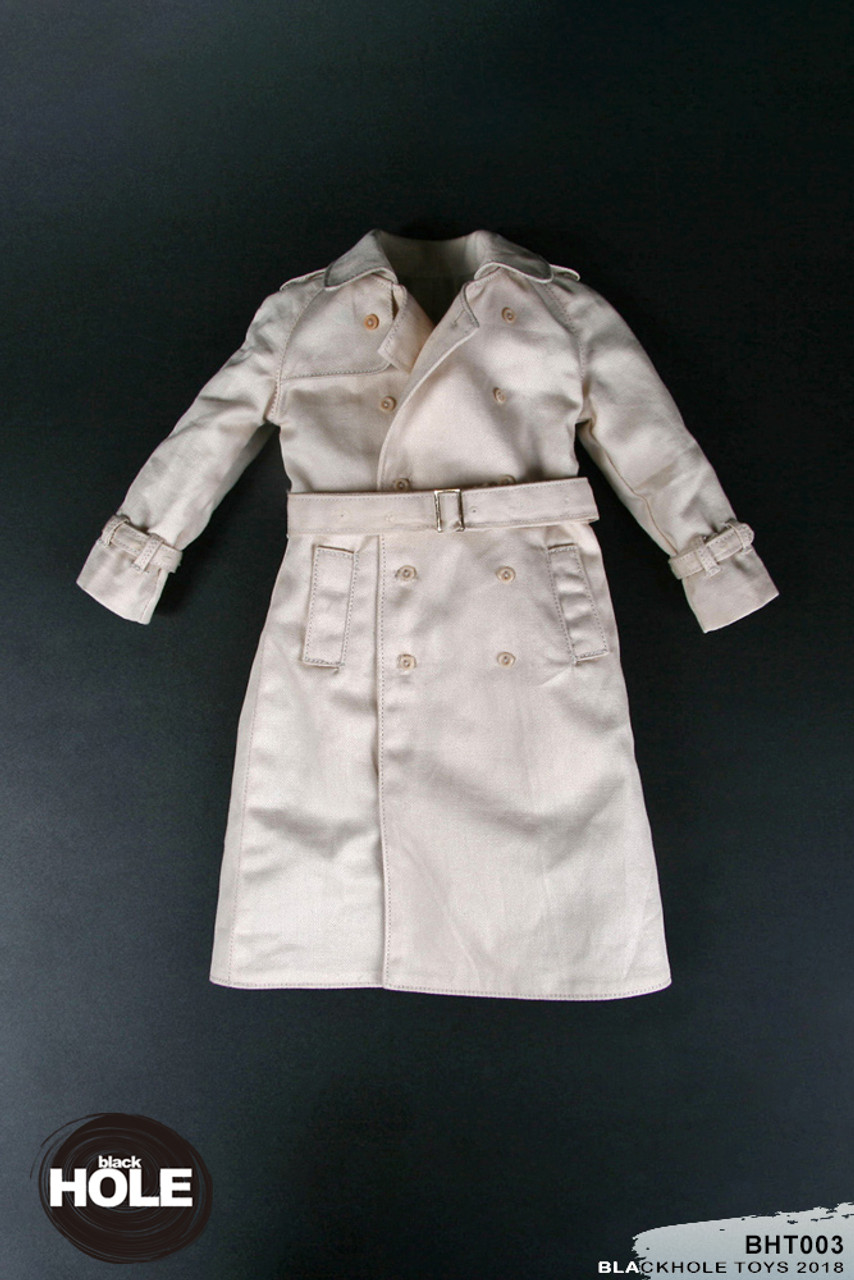 Blackhole German 1940 fashion set greatcoat 1//6 toys DID 3R Alert WWII coat over
