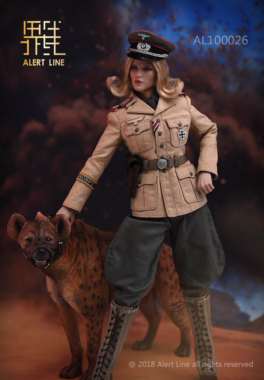 Alert Line 1//6 Scale AL100026 Afrika Female Officer Figure Model Collectible New