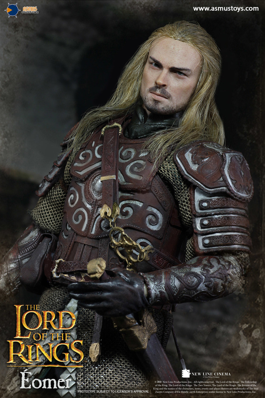 """Asmus Toys LOTR011 1//6th The Lord of the Rings Eomer 12/"""" Figure Forearm Armor"""
