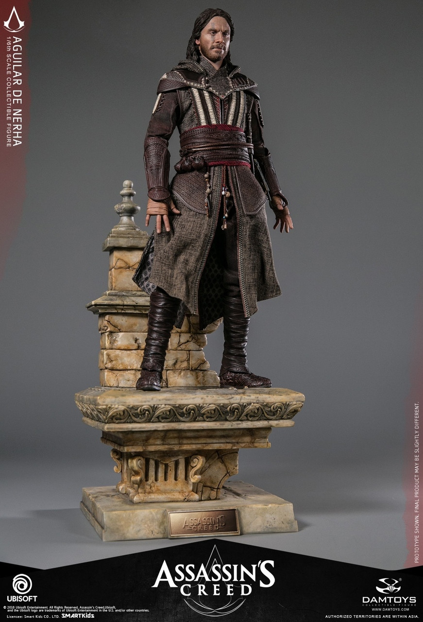 """DAMTOYS DMS006 Assassin/'s Creed 1//6 Scale Aguilar 12/"""" Collectible Figure Body"""