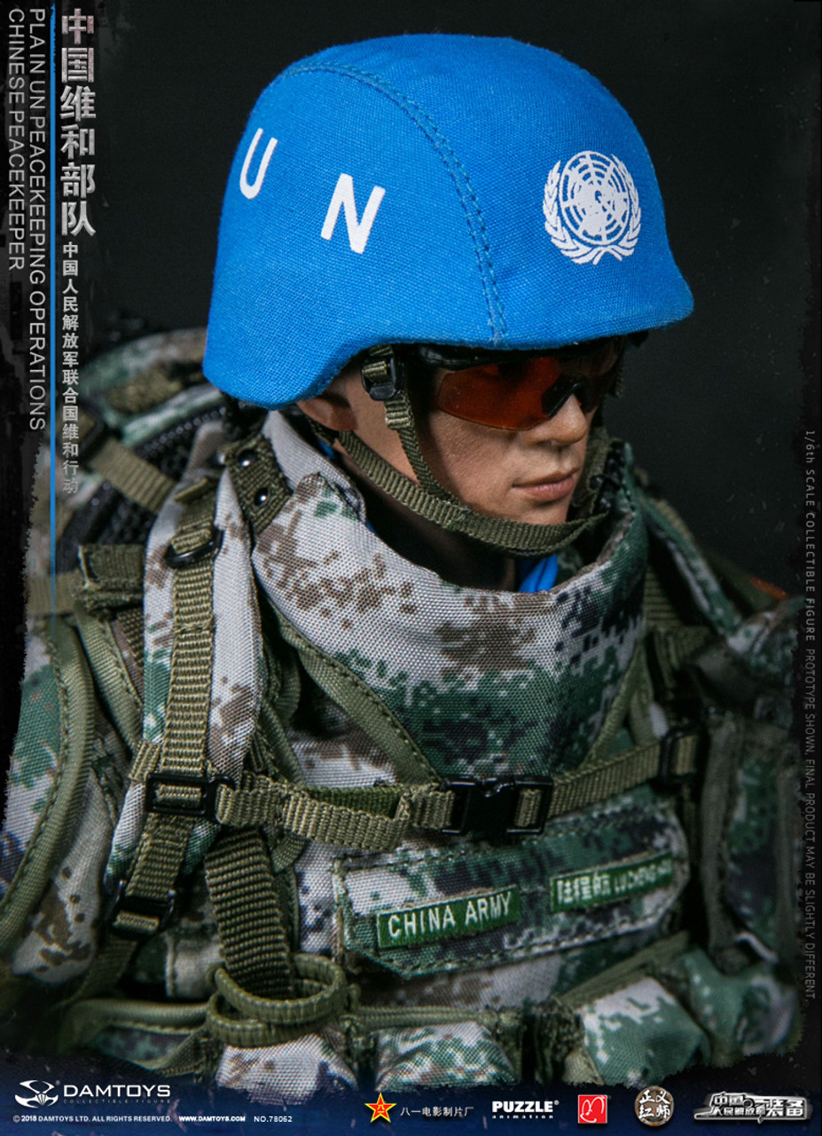 DAMTOYS DAM 78062 1//6 Scale Chinese Peacekeeper PLA Glove Hands Model