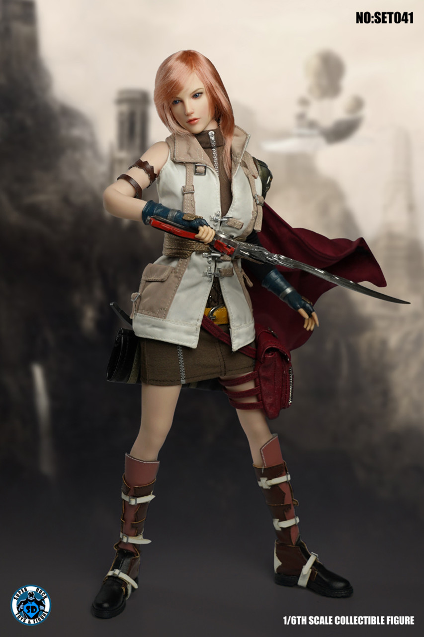 Super Duck 1//6th SET032 Female Warrior Cosplay Series Hands Model Toy