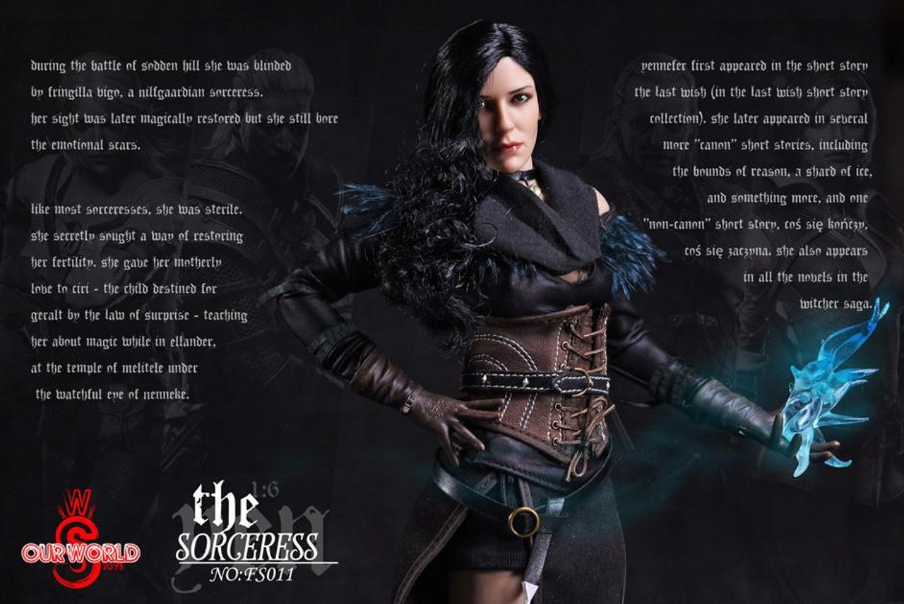 The Sorceress Yen Boxed Figure by SW Our World FS011 Stock USA