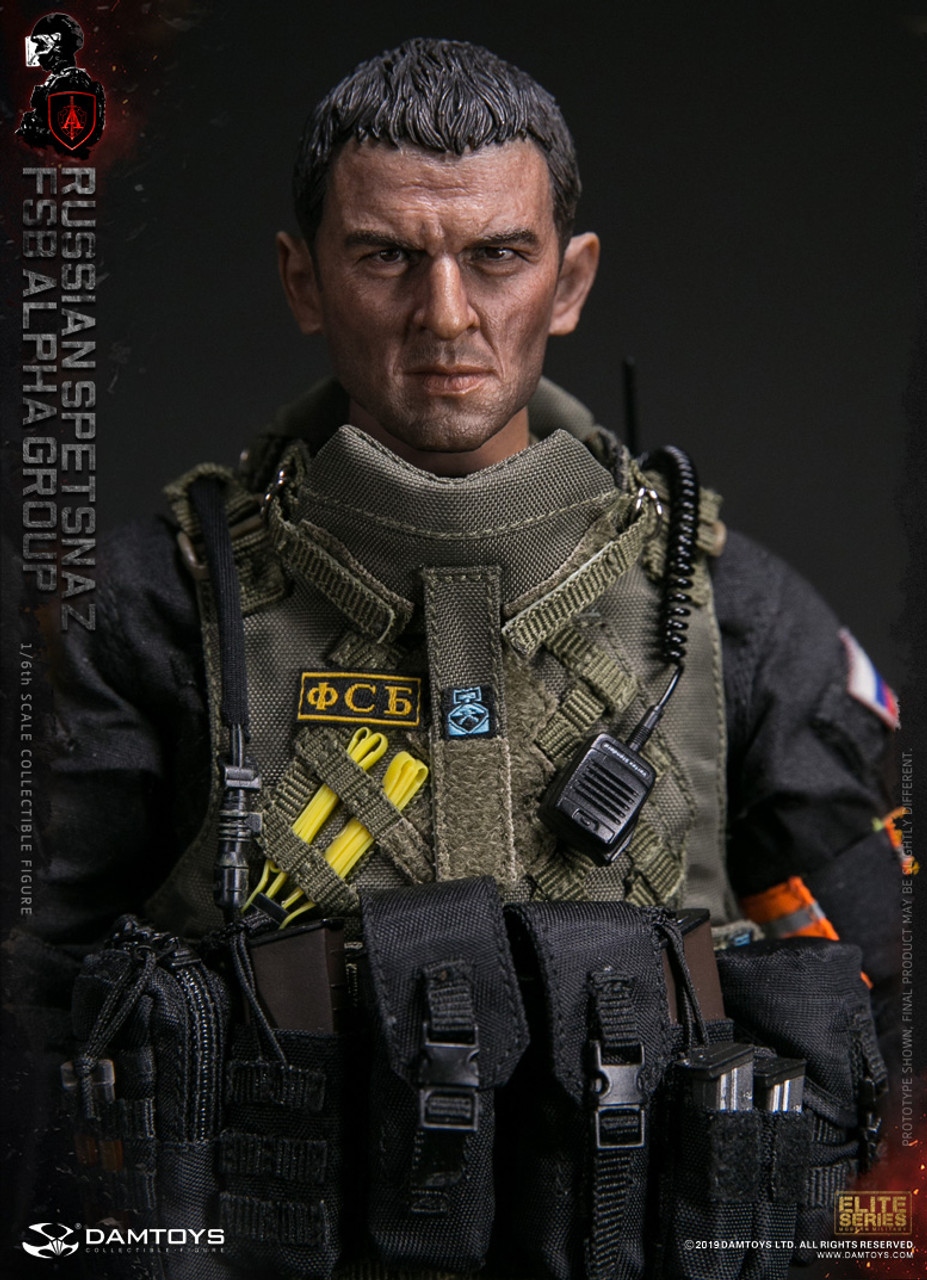 1//6th scale Vest set DAMTOYS 78064 RUSSIAN SPETSNAZ FSB ALPHA Group