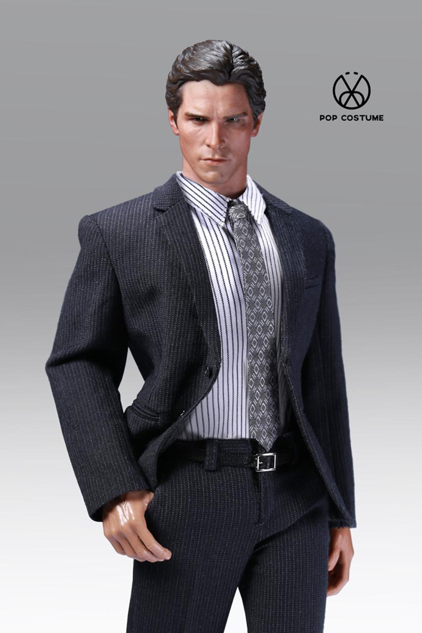 Dark Grey POPTOYS X26D 1//6 Scale Suit Set