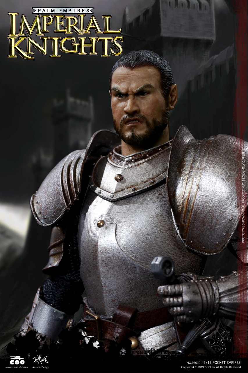 COOMODEL 1//12th Palm Empire Series Knights Templar NO.PE002 Collectable Figure