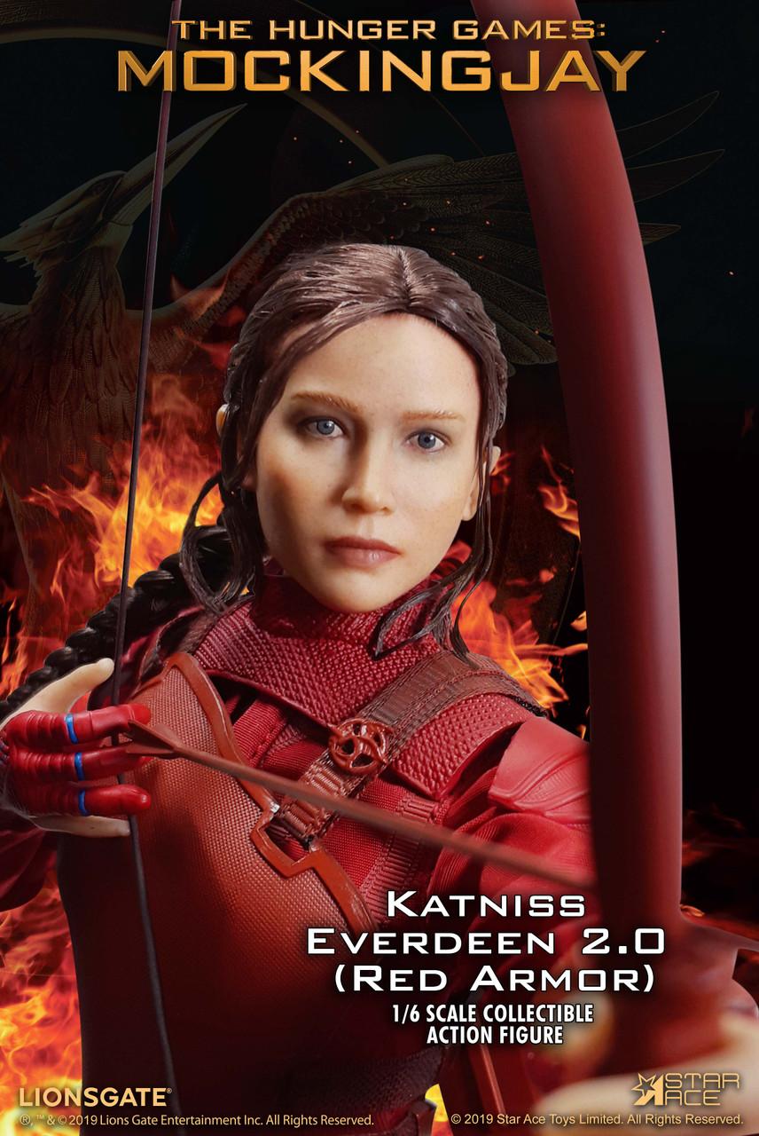 Star Ace Toys SA0036 1//6 Katniss The Hunger Games Mockingjay Female Figure Model