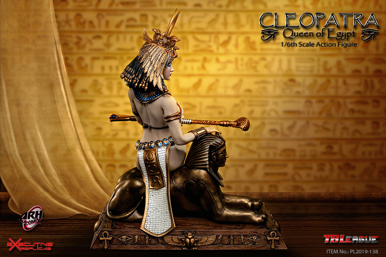 "TBLeague PL2019-138 1//6 Scale Cleopatra Queen of Egypt 12/"" Figure Neck Armor"