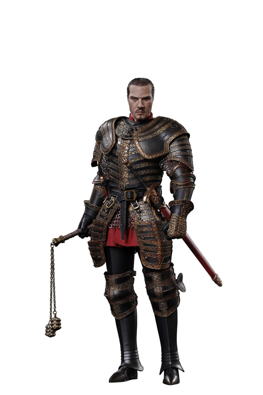 COO Enrico VIII Tudor Models DINASTIA SE047 Mantello Rosso Scala 1//6th Loose
