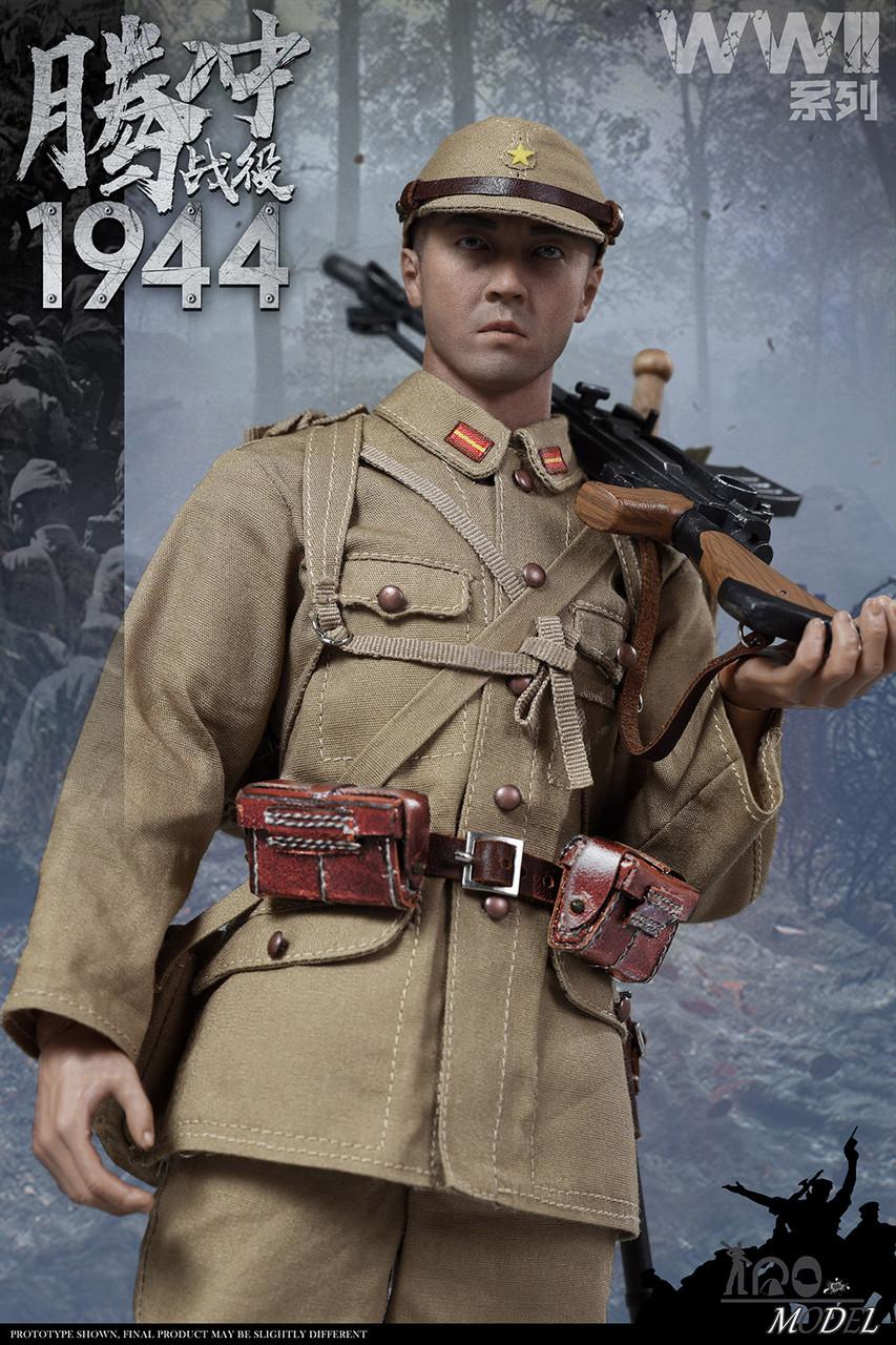 96 Light Machine Gun for IQO MODEL 91001 WWII 1944 Battle of Tengchong Soldier