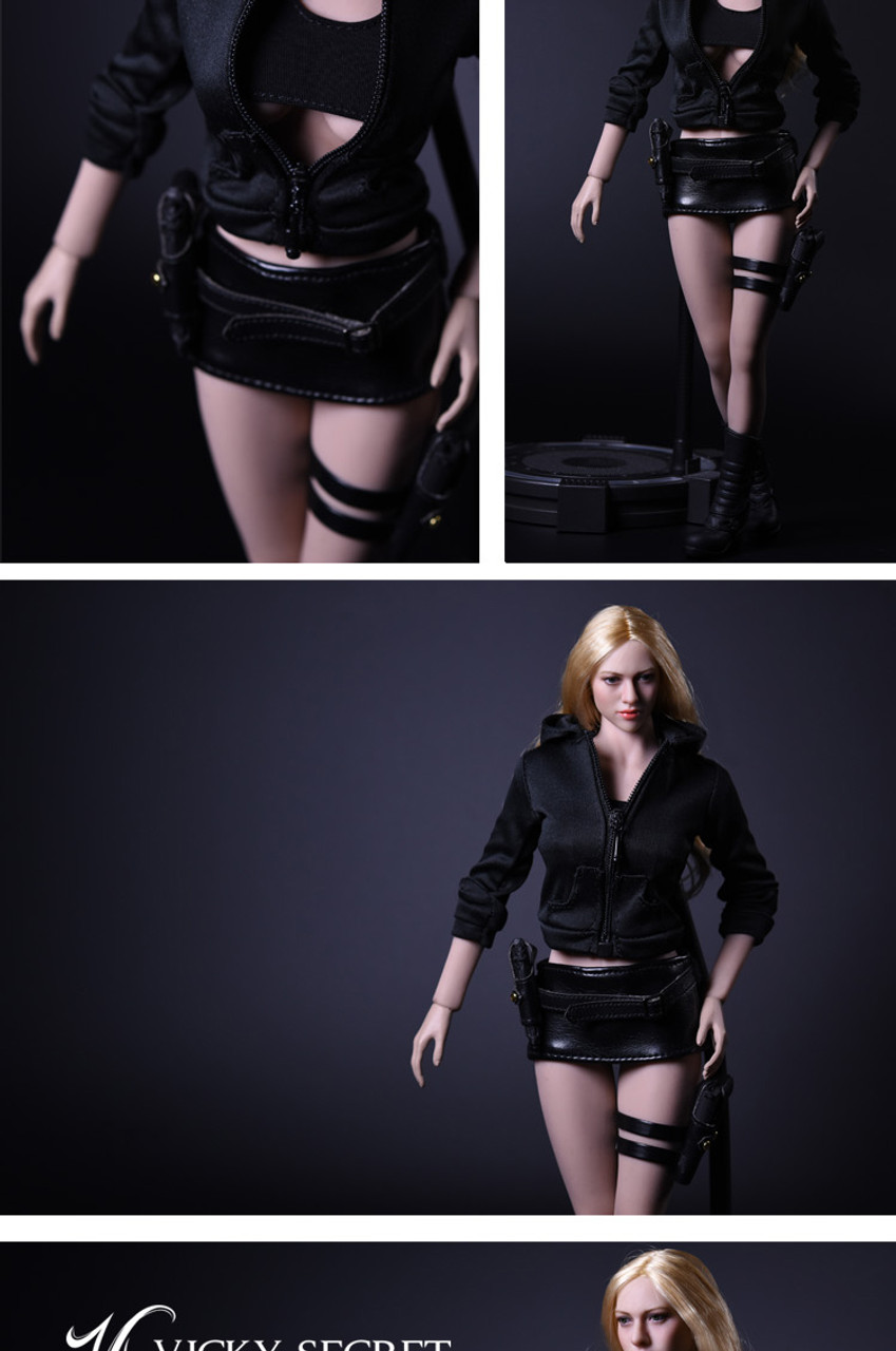 VS Toys 1//6 Female Assassin Clothing Set A for Phicen body 17NSS-B