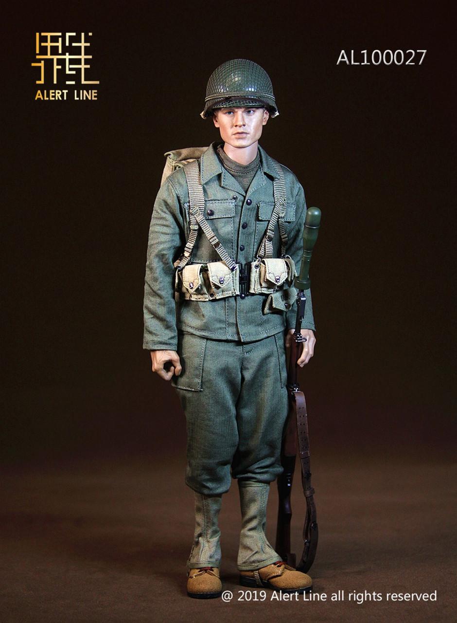 "Alert Line AL100027 1//6 Scale WWII US Army Bayonet Model for 12/"" Figure"
