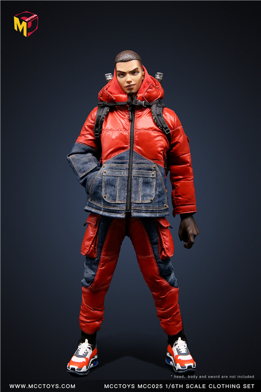 """MCCTOYS MCC025 1//6 Scale Backpack Model for 12/"""" Male Action Figure"""