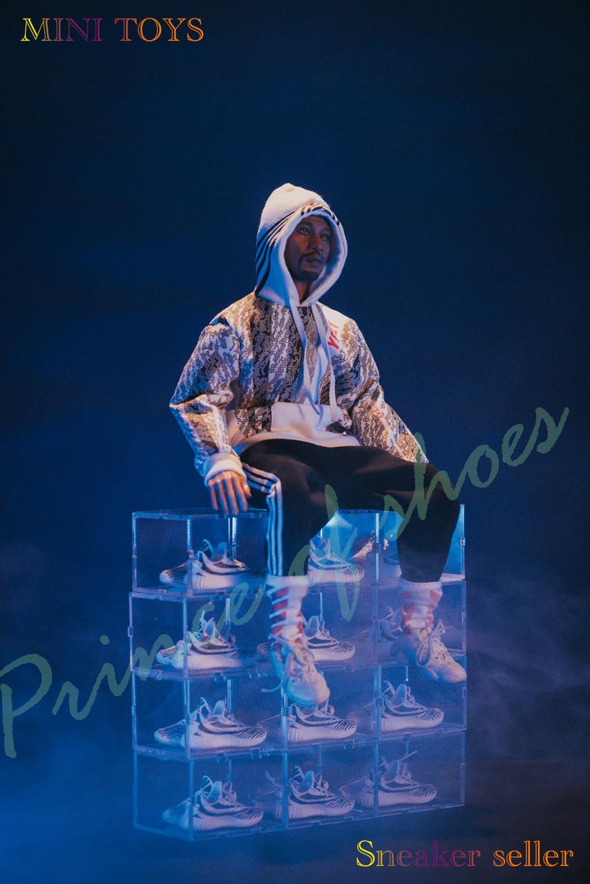 1:6 Scale MINI TOYS SneaKer Seller Satr Collectible Figure Model Full Box
