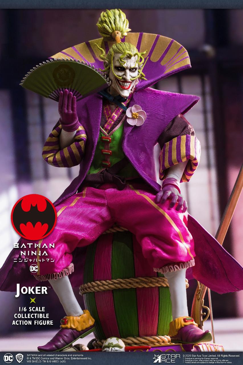 Sa 0077 1 6 Joker Batman Ninja Deluxe Collector Figure By Star Ace Ekia Hobbies