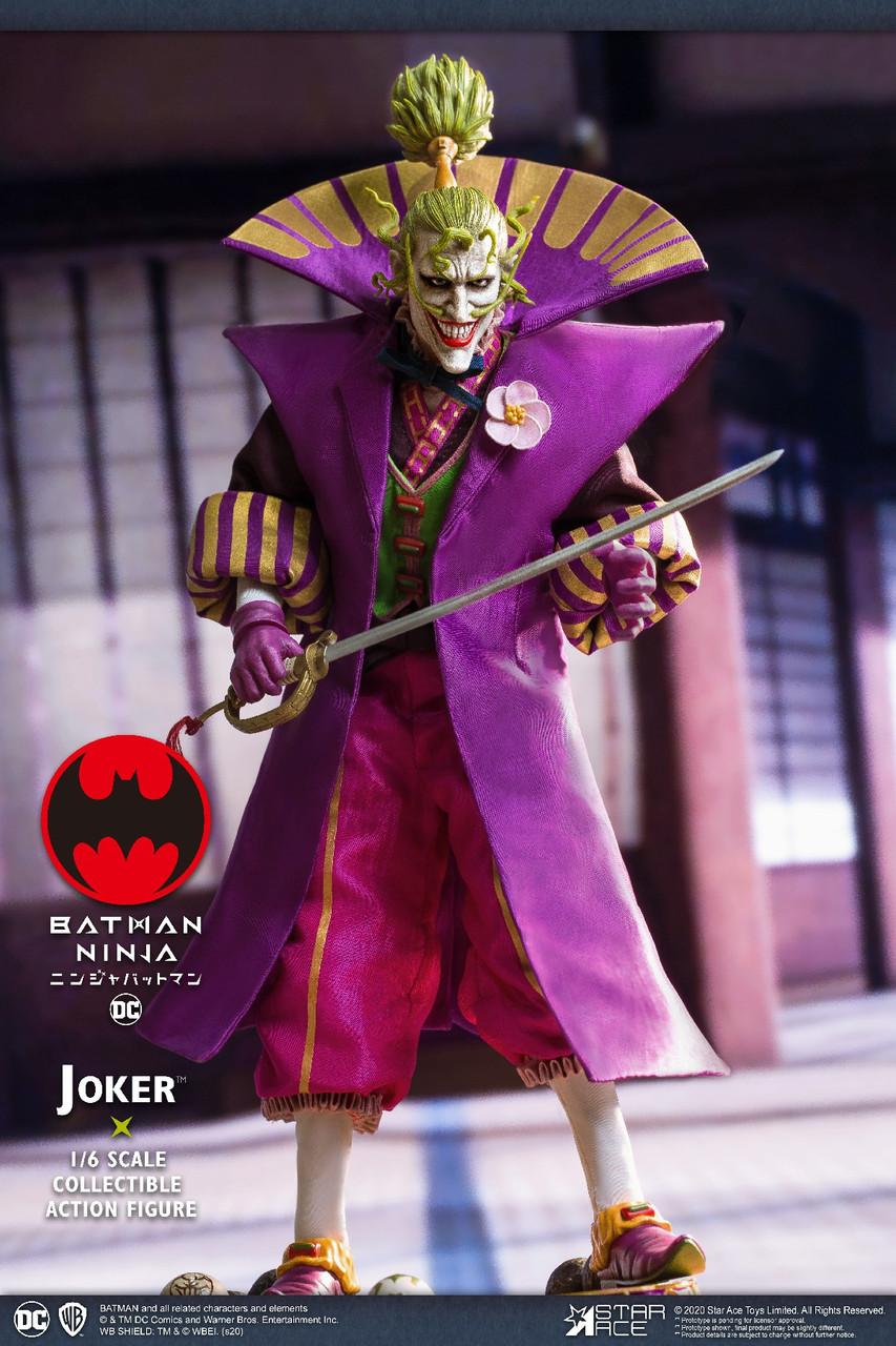 Sa 0078 1 6 Joker Batman Ninja Nx Collector Figure By Star Ace Ekia Hobbies