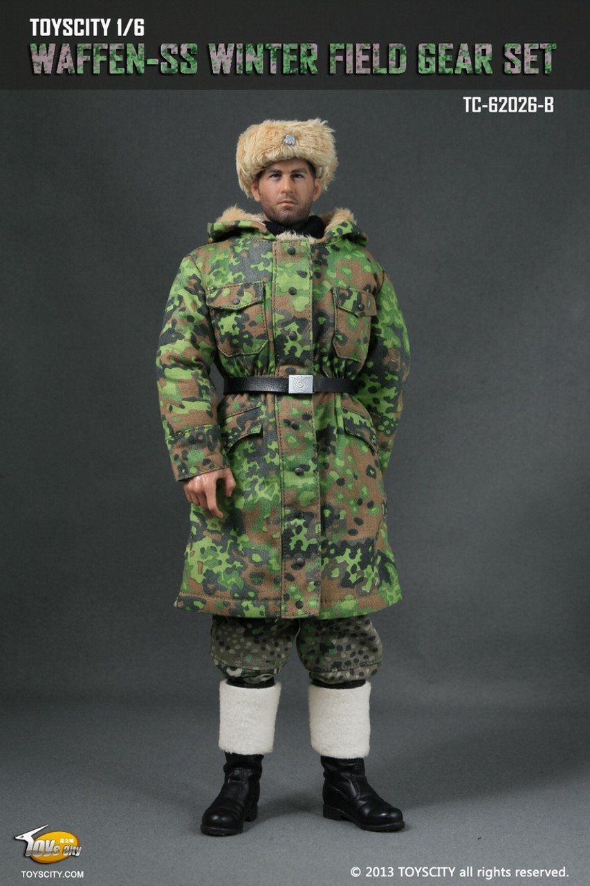 1//6 Scale German Camo SS Jumpsuit