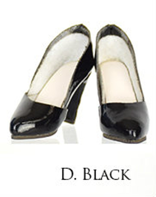 [WLS-CW002D] Wondery The Catwalk Series 002 Classic High Heels Modern Black for 1/6 Scale Female Figures