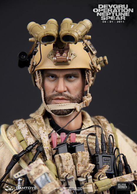 "[DAM-78012] DAMTOYS DEVGRU Operation Neptune Spear 12"" Action Figure Boxed Set"